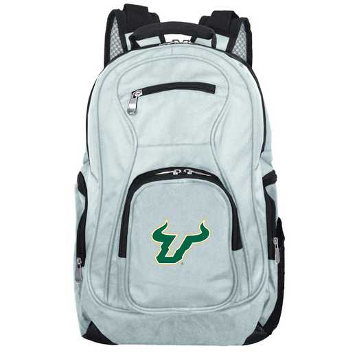 CLSFL704-GRAY: NCAA South Florida Bulls Backpack Laptop